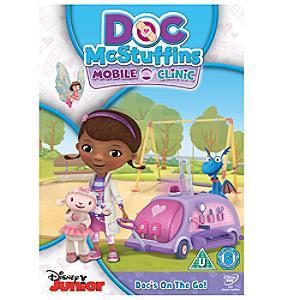 Doc McStuffins - Mobile Clinic DVD - Doc Mcstuffins Gifts