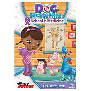 Doc McStuffins - School of Medicine DVD - Medicine Gifts