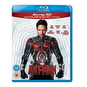 Ant Man 3D Blu-ray