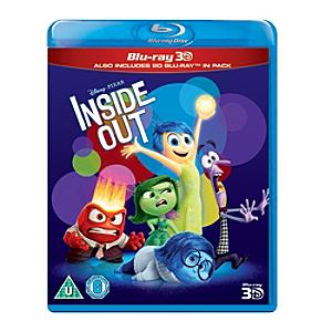 Inside Out Blu-ray 2D and 3D - Inside Out Gifts