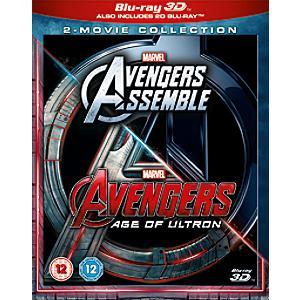 Avengers Assemble/ Age of Ultron 3D Blu-ray