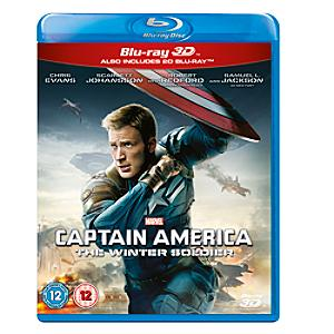 Captain America: The Winter Soldier 3d Blu-ray - Marvel Gifts