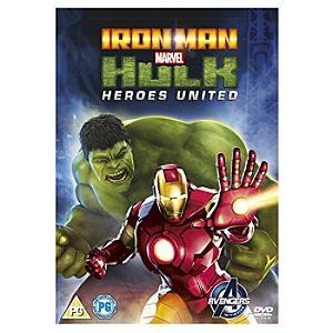 Marvel's Iron Man & Hulk: Heroes United DVD - Marvel Gifts