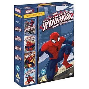 Ultimate Spider-Man 1-4 Boxset DVD - Marvel Gifts