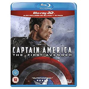 Captain America: The First Avenger 3d Blu-ray - Marvel Gifts
