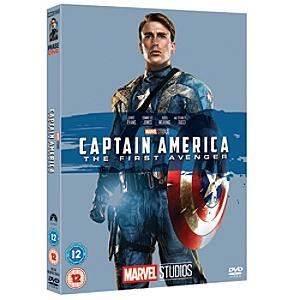 Captain America: The First Avenger DVD - Dvd Gifts