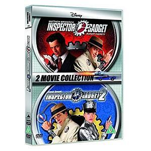 Inspector Gadget 1 & 2 DVD UK - Gadget Gifts