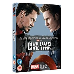 Captain America: Civil War Blu-ray - Marvel Gifts