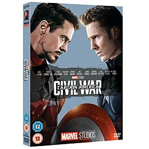 Captain America: Civil War DVD - Marvel Gifts