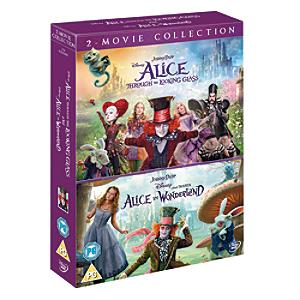 Alice In Wonderland & Alice Through the Looking Glass Double Pack DVD - Alice In Wonderland Gifts