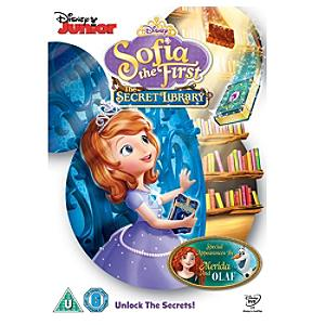 Sofia the First - The Secret Library DVD - Sofia The First Gifts