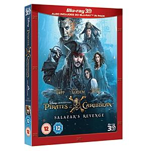 Pirates of the Caribbean: Salazar's Revenge 3D Blu-ray - Pirates Gifts