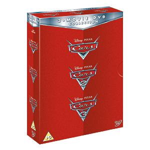 Cars 1-3 DVD Boxset - Dvd Gifts