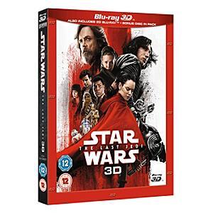Star Wars: The Last Jedi 3D Blu-ray - Disney Store Gifts