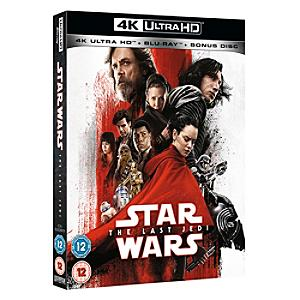 Star Wars: The Last Jedi 4K Ultra HD - Disney Store Gifts