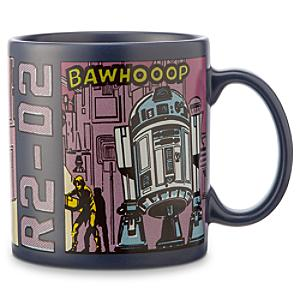 Star Wars - R2-D2 Becher im Comic-Stil