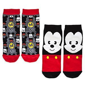Micky Maus - MXYZ Socken für Damen, 2er-Pack