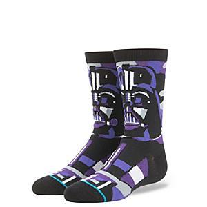Stance Mosaic Star Wars Darth Vader Socks For Kids - Darth Vader Gifts