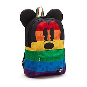 Mochila arcoíris Mickey Mouse, Loungefly