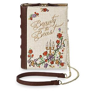 Beauty and the Beast Book Clutch Bag