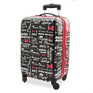 Minnie Rocks the Dots Rolling Luggage