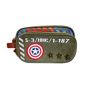 Captain America Military Range Toiletry Bag - Military Gifts