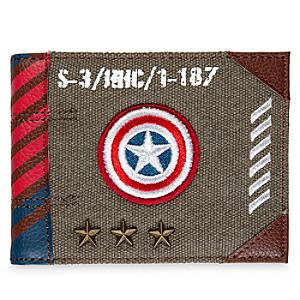 Captain America Military Range Wallet - Marvel Gifts