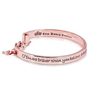 Couture Kingdom Bracelet en plaqué or rose Winnie l'Ourson
