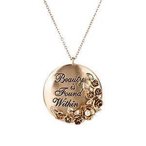 Beauty and the Beast Necklace by Danielle Nicole