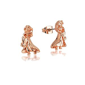 Couture Kingdom Rose Gold-Plated Earrings, Princess Jasmine - Aladdin Gifts