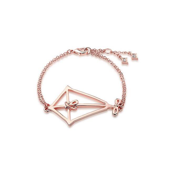 Couture Kingdom bracelet cerf-Volant le retour de mary poppins plaqué en or rose