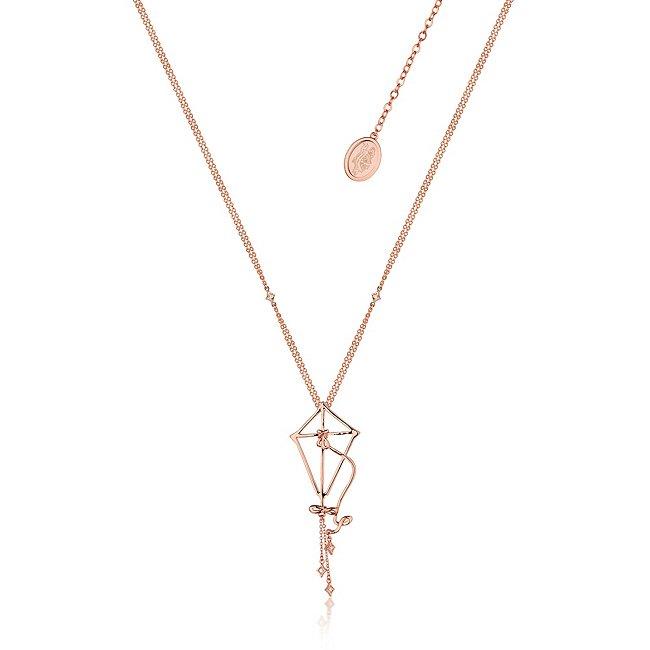 Couture Kingdom collier cerf-Volant le retour de mary poppins plaqué en or rose