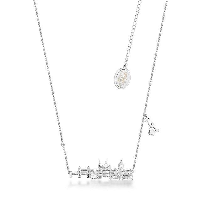 Couture Kingdom collier horizon londonien le retour de mary poppins plaqué en or blanc