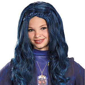 Perruque bleue Evie, Disney Descendants, pour enfants
