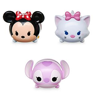 Minnie Mouse, Angel and Marie Tsum Tsum Lip Balm Set - Angel Gifts