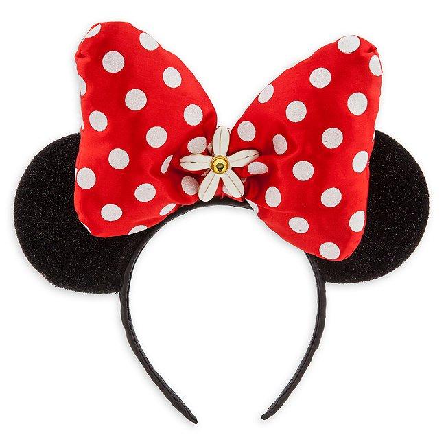 Image of Cerchietto rosso con orecchie Minni Disney Store