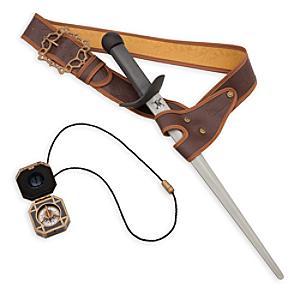 Set accessori 3 pezzi Jack Sparrow, Pirati dei Caraibi: La Vendetta di Salazar