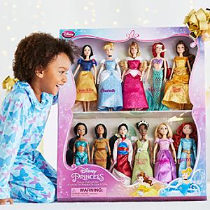 Disney Princess Deluxe Doll Gift Set