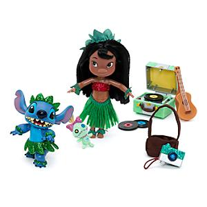 Lilo & Stitch Mini Animator Doll Playset - Doll Gifts