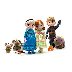 Anna, Elsa & Kristoff Deluxe Animator's Collection Gift Set