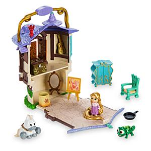 Ensemble de jeu miniature Raiponce de la collection Disney Animators