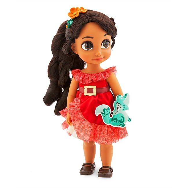 Disney Store poupée elena d'avalor, collection animator