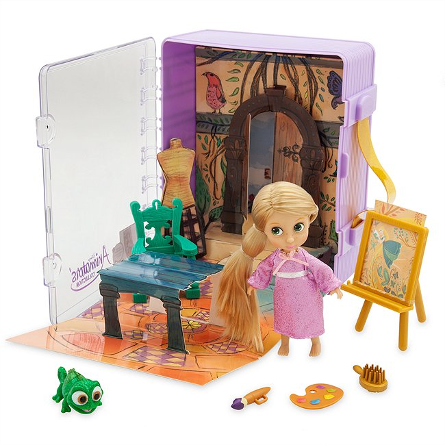 Disney Store coffret raiponce, disney animators