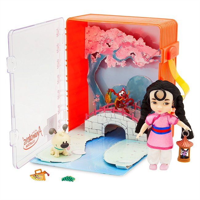 Disney Store coffret mulan, disney animators