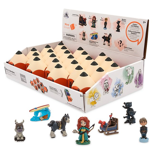 Image of Micro personaggi da collezione Disney Animators Littles, wave 7 Disney Store
