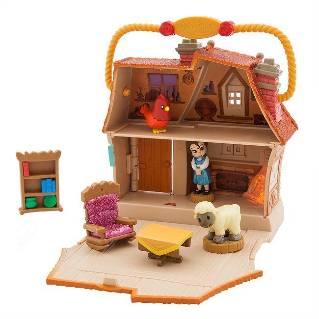 Disney Store coffret belle, collection disney animators littles