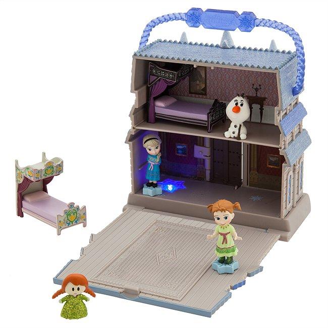 Disney Store coffret la reine des neiges, collection disney animators littles