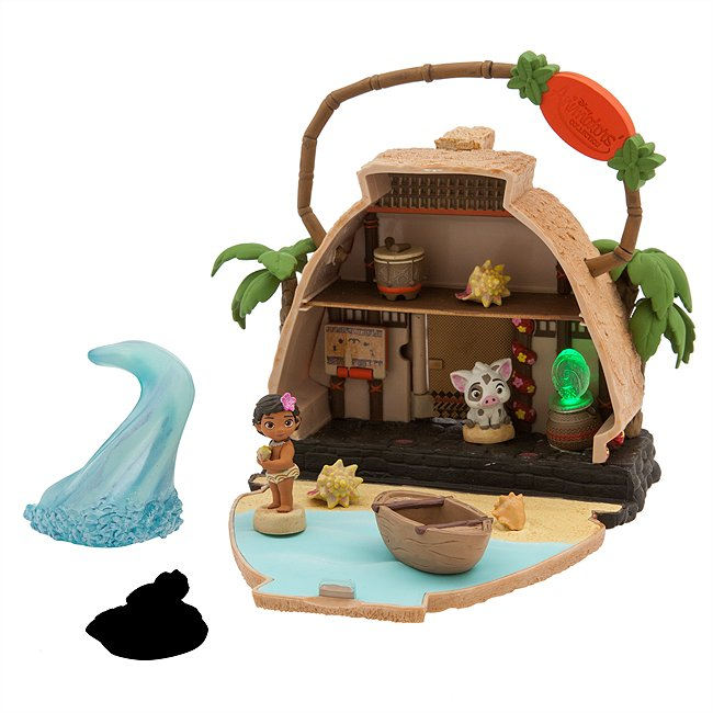 Disney Store coffret vaiana, collection disney animators littles