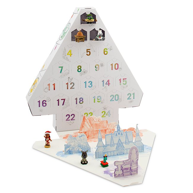 Disney Store calendrier de l'avent, collection disney animators