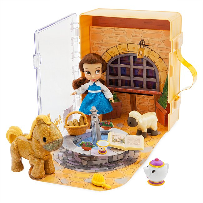 Disney Store coffret belle, collection disney animators